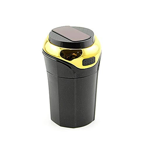DBSUFV El cenicero del coche se puede encender con luces LED Enchufe de encendedor de cigarrillos americano 12-24v 10a Enchufe de encendedor de cigarrillos de doble tamaño