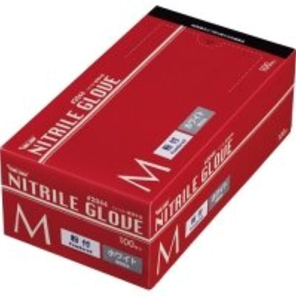 それによって限定連続した川西工業 ニトリル 使いきり極薄手袋 粉付 ホワイト M 1箱(100枚)