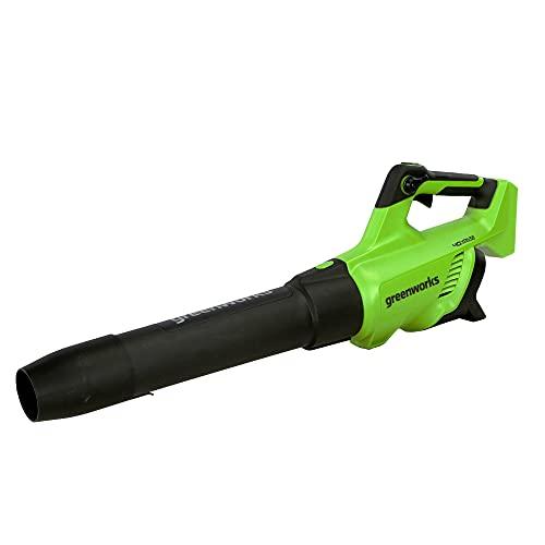 Greenworks 40V (500 CFM / 120 MPH) Axial Leaf Blower, Tool Only, 2416202AZ