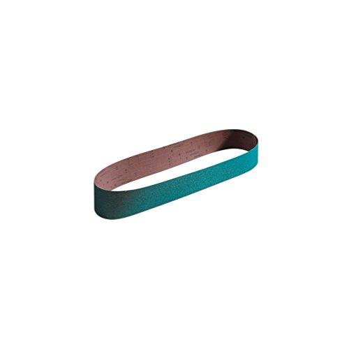 Sidamo - 5 bandes abrasives sans fin 1000 x 100 mm Gr 60 Zirconium - 10906052 - Sidamo