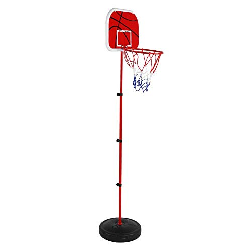 Save %9 Now! Set Kisd Basketball Backboard, Mini Basketball System Backboard Basket Ball Games Kit K...