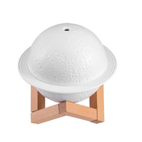 Humidificador Usb Planet Humidificador con luz Difusor de aromas para el hogar 200ml Humidificador silencioso Decoración para el hogar