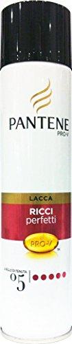 6 x Pantene Pro-V Locken-Haarspray, perfekter Halt, 250 ml