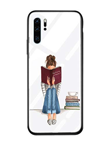 Caler Cover Compatible avec Samsung Galaxy A8+ Plus 2018 Coque de Protection en Verre trempé 9H 【Anti-Rayures】 + Cadre Pare-Chocs en TPU Silicone Souple 【Antichocs】 Vogue Ultra Chic
