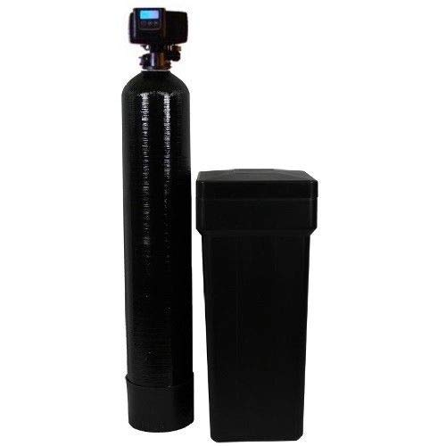 Discount Water Softeners 48,000 Fleck 5600SXT Water Softener, Grains, Black