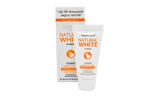 Dr. Somchai Active Skin Lightening Natural White Cream 0.5 oz. Best Product From Thailand.