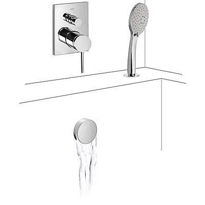 Tres Griferia - Mono‑Term® De Empotrar Baño‑Ducha Con Cierre Y Regulación De...
