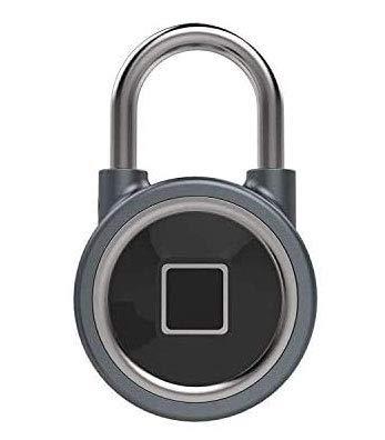 ZKTeco - FB50 Candado sin llave, de seguridad, Inteligente, Gris - Padlock...