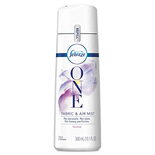 PROCTER & GAMBLE ONE Fabric and AIR Mist Refill, Orchid, 300 ML, 6/Carton -  Febreze, 98393
