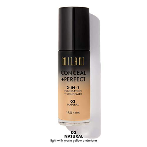 MILANI Conceal + Perfect 2-In-1 Foundation + Concealer - Natural