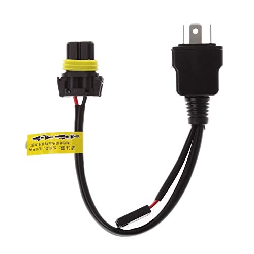 DFYYQ Relais Harness Steuerkabel for H4 Hallo/Lo Bi-Xenon-HID-Lampen Wiring-Controller (Size : 12V)