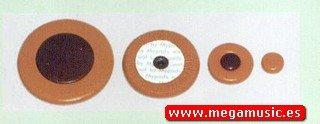 ZAPATILLAS SAXOFON TENOR - Mijn Pads (WS.110) Juego Completo para Yamaha, Resonador Plastico