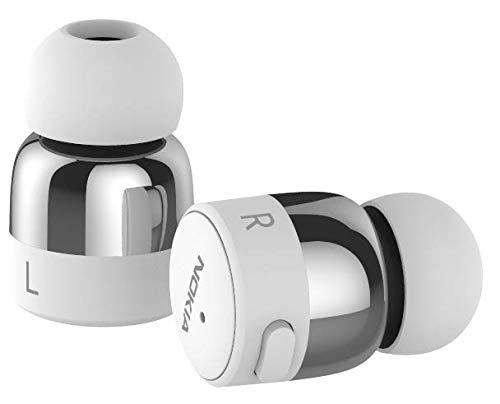 Original Nokia True Wireless Bluetooth-Stereo-Kopfhörer, In-Ear Silber