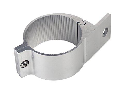 Universell passende Aluminium-Rohrschelle ø 75 bis 78mm für Lampenbügel, Frontbügel, Überrollbügel etc. 75-78 mm~