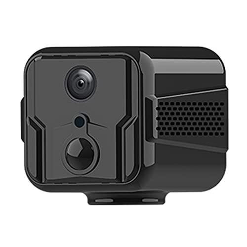 CHENPENG Mini cámara espía, Mini cámara Oculta WiFi 1080P HD, con visión Nocturna, para automóvil doméstico Interior al Aire Libre