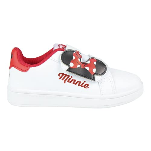 CERDÁ LIFE'S LITTLE MOMENTS Cerdá-Zapatillas Deportivas Minnie Mouse de Color Blanco, Niñas, 28 EU