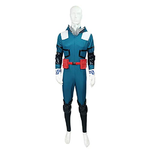 YYFS Anime Cosplay Disfraz de Tema de Halloween Uniforme Uniforme Traje de Batalla Jumpsuit Blue Men's Edition,Men's Size-Medium