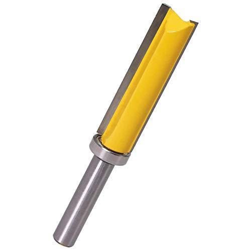 WSOOX 8mm Gambo Fresa per lavorazione del legno, flush trim router bit, punta del router di taglio a filo, diametro di taglio 14mm, altezza di taglio 50.8 mm