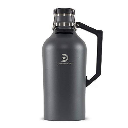 DrinkTanks Unisex de acero inoxidable aislado al vacío, pizarra, 12 onzas
