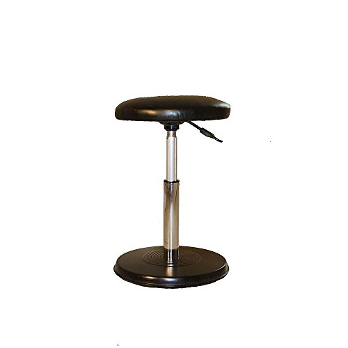 Kore Wobble Office Chair - Standing Desk Stool, Task Chair, Perfect for Active Sitting, Better than a Balance Ball for Office - Everyday - Fabric