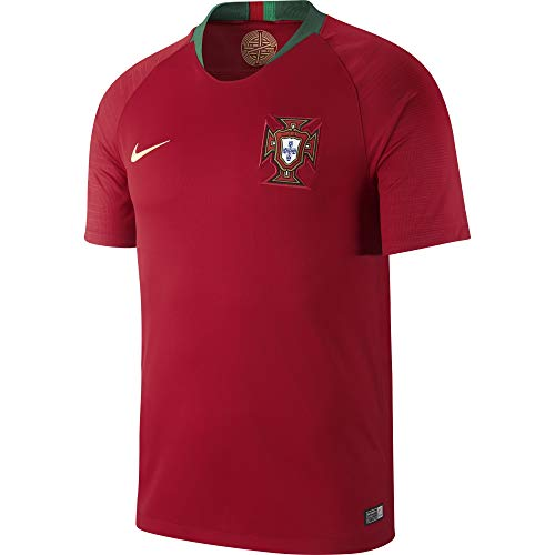 Nike Herren Portugal Trikot Home WM 2018 Teamtrikot, Gym Red, 2XL