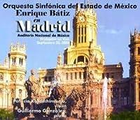 「マドリッドのエンリケ・バティス」2003年ライヴ バティス&メキシコ州立響(2CD)