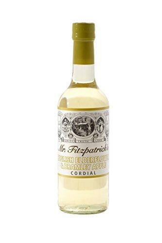 Mr Fitzpatrick's Elderflower & Bramley Apple Sirup Holunderblüten Sirup