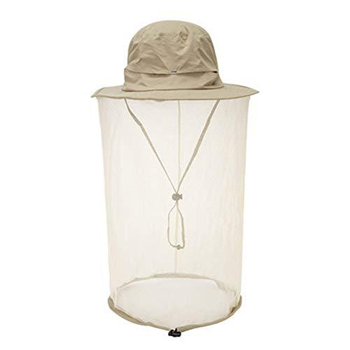 YUXINCAI hoed om te wandelen, draagbaar, anti-muggenbescherming, nachtlampje, vissen