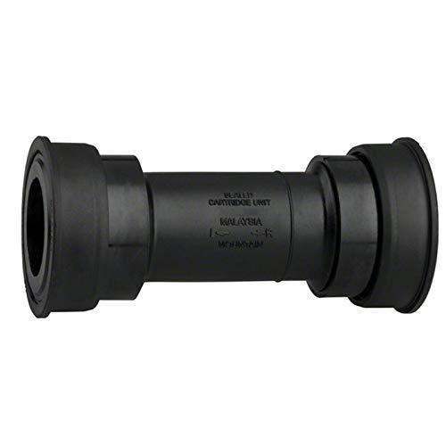 TSAUTOP Newest 68mm / 73mm MT500 89.5 / 92mm Presione BB Soporte Inferior del Ciclismo del Eje Redondo del Eje del Eje Central con el Tornillo para shi-ma-no sm-bb52 (Color : Mt500)