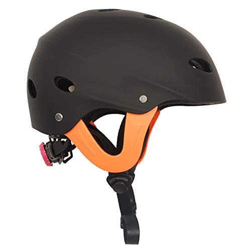 fuchsiaan Casco Da Bici & Sci Per Adulti, Casco di Impermeabile Resistente Agli Urti Leggero Uomo E Donna Bike Helmet Per Mountain Bike Scooter Skating Skateboard Rafting Regalo Black XL