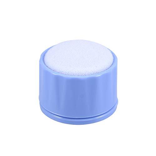 Supvox Dental Endo Stand Dental Reinigungs-Schaum Datei-Bohrer-Block-Halter Endo Lineal Messstation Instrument Werkzeuge (blau)