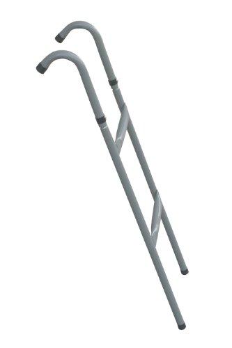 FA Sports Trampolinleiter Jumpy Steps, silber, 1226