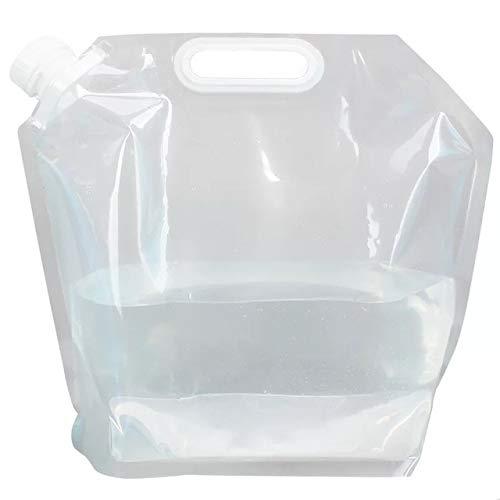 Mdsfe 700mL Reutilizable Sports Travel Portable Plegable Plegable Beber Botella de Agua Hervidor Deportes al Aire Libre Botella de Agua de plástico 3 Colores - 5L, Rojo