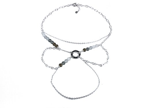 Joop! Damen-Halskette mit Anhänger 925 Sterling Silber JPNL90291A450
