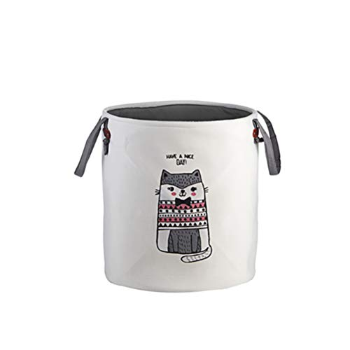 CQSYCQ Cesta de almacenamiento plegable para ropa, juguetes para niños, organizador de dibujos animados para el baño, cesta de lavandería, cubo de almacenamiento de ropa impermeable (color: 2)