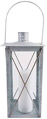 Esschert Design Laterne antikzink 35cm