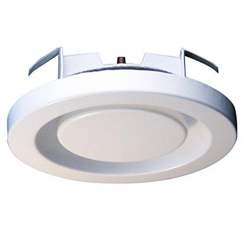 Abluftventil Stahlblech weiß rund DN 125 mm Tellerventil