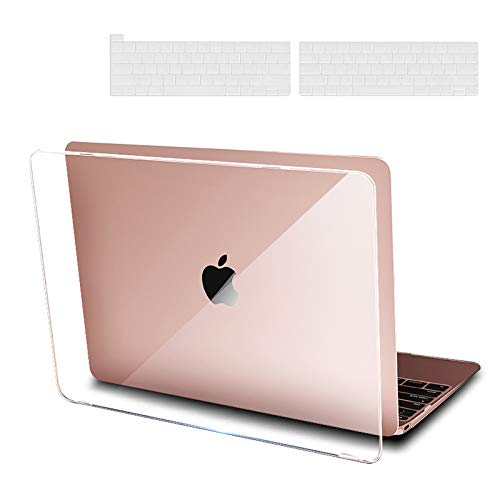 MacBook Pro 13 Inch Case 2021 2020 A2338 M1 A2289 A2251 A2159 A1989 A1706 2019 2018 2017 2016 with Touch Bar,Apple MacBook Laptop Accessories Pack with Keyboard Cover HC931 - Clear