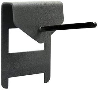 Secure It Gun Storage Single Pistol Peg: Display Mount, Great Handgun Rack for Your Gun Safe Display, Perfect Wall Mount Organization and Barrel Rest