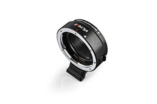 VILTROX EF-EOS M レンズ マウント アダプター オートフォーカス リング マウント変換アダプター キヤノン EOS M シリーズ EF-M ミラーレス カメラ 用 EOS M100/EOS M50/EOS M3/EOS M10/EOS M6/EOS M5 対応