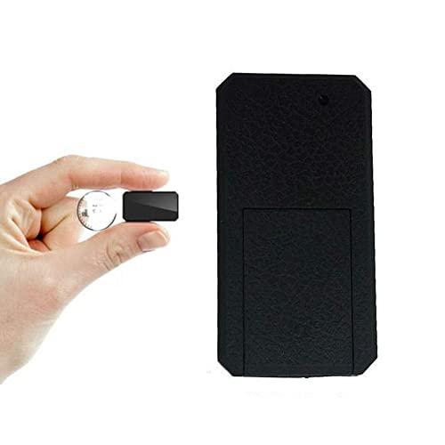Winnes Mini Rastreador GPS, Magnético Micro GPS Ortung Anti Theft Tiempo Real GPS Locator para Bolso Cartera Bolsillos Escolares. Documentos Importantes Perdido Localizador Tracker TK901 Negro