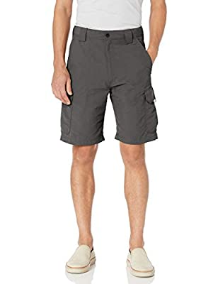 Wrangler Authentics Men's Performance Cargo Short, Asphalt, 42