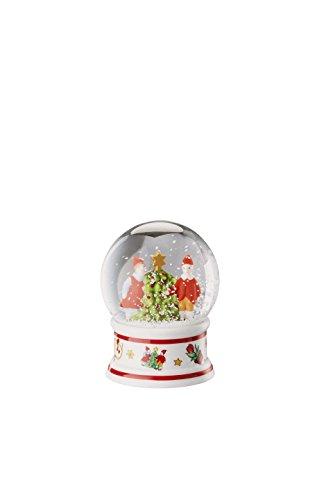 Hutschenreuther Christmas Memories-40 Jahre Ole Winther Schneekugel Durchmesser 6 cm, Porzellan, Bunt, 9 x 9 x 10 cm