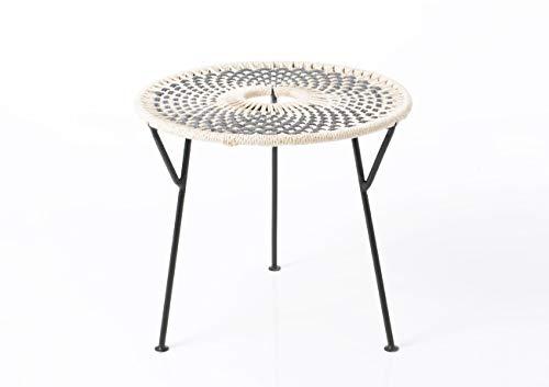 Amadeus - Table Basse Grise Baya 50 cm