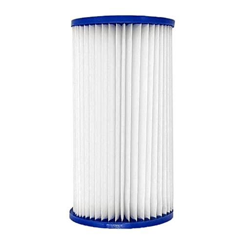 AoFeiKeDM Filtro de filtro de piscina tipo A fácil de instalar sobre el suelo Cartucho de filtro de repuesto para piscinas y piscinas de bombas de circulación de filtro
