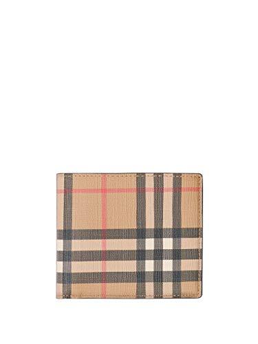 Luxury Fashion   Burberry Heren 8016611 Beige Katoen Portemonnees   Seizoen Permanent