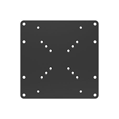 PureMounts ADAPT-A VESA Piastra adattatore universale per 50x50 fino a 200x200, max. 30 kg, Nero