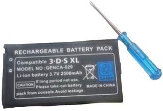 3DSLL 2500mAh 大容量バッテリー 交換用バッテリー ドライバーセット