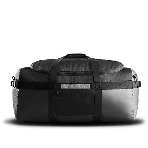 HEIMPLANET Original | Monolith Duffle Bag 80L | Großer Wasserfester Weekender | Auch als Rucksack tragbar | VOLUME+ mit dem M.O.L.L.E. SYSTEM | Unterstützt 1% For The Planet