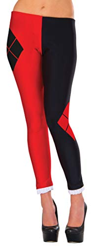 Rubies Costume Co. Inc Harley Quinn Womens Leggings Standard